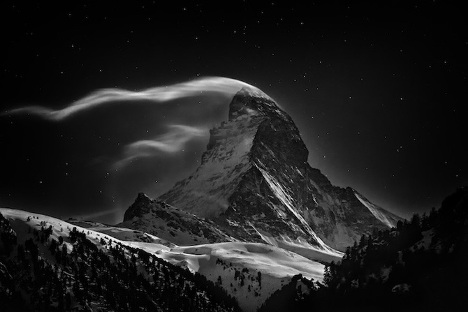 The Matterhorn: Night Clouds #2 — Nenad Saljic