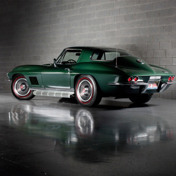"Corvette ""Sting Ray"" – 1967"