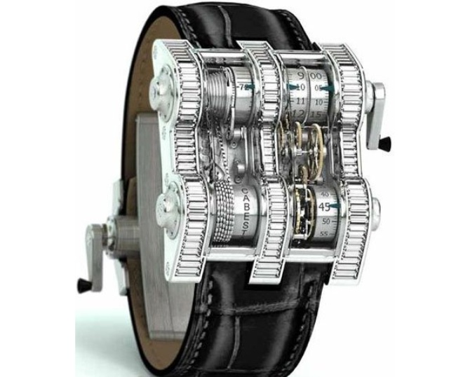 The Cabestan Winch Tourbillion Vertical за $275,000