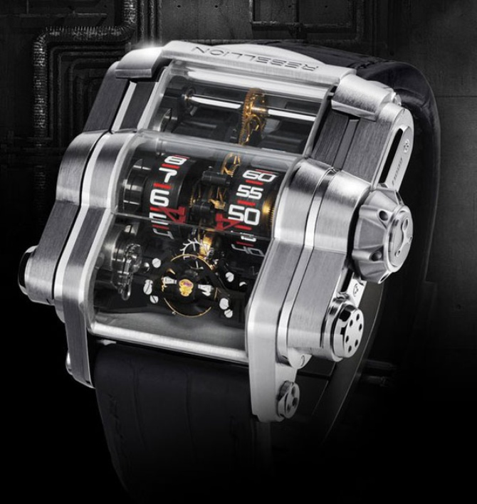 Rebellion Time-Machine за $105,000