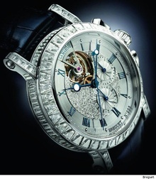 Breguet Marine Tourbillon Ref. 5839 High Jewellery Chronograph фото 17
