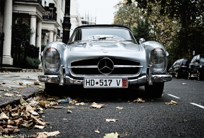Mercedes-Benz 300SL Roadster – 1954
