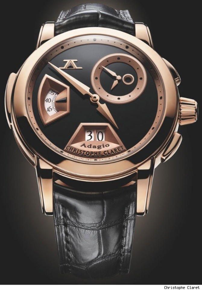 Christophe Claret Adagio Watch за 257,000 евро