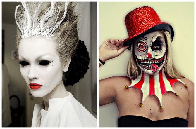 Оригинальные костюмы на Хэллоуин для девушек