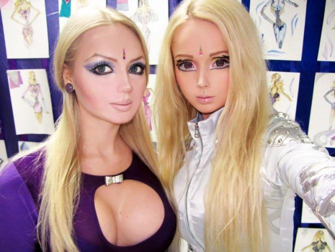 Девушки превращающие себя в кукол фото