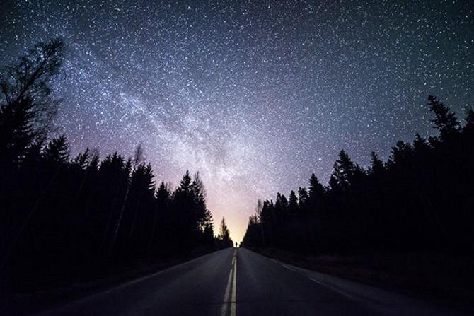 фото неба ночного