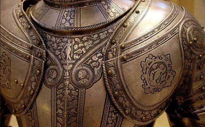 фото доспехи средневекового рыцаря