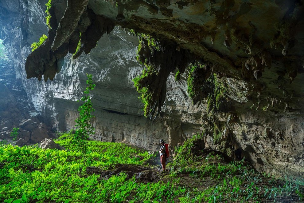 Пещера Тэм Каун Экс