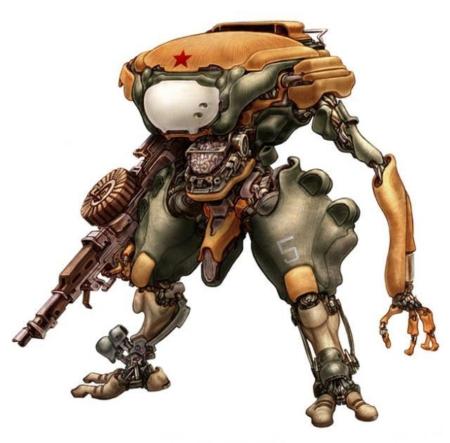 картинки боевые роботы