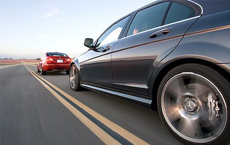 Mercedes C63 AMG vs. BMW M3