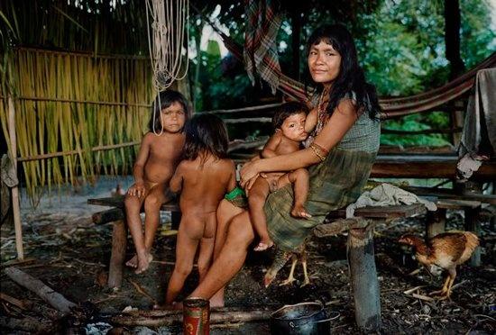 Секс у дикого племени