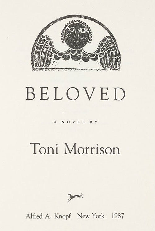 toni morrisons beloved essay In beloved, toni morrison radically reinvents the ancestor theme by creating an ancestor younger than the living characters the ghostly presence of the murdered baby known only as beloved - the only word her mother, sethe, could afford to have carved.
