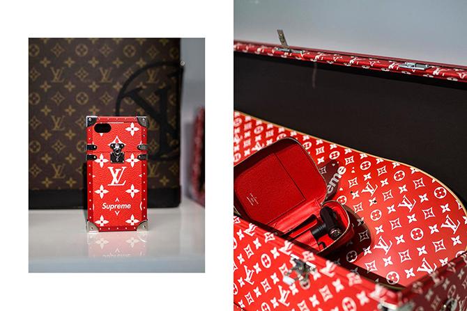 dadb86dc76ea Лукбук долгожданной коллекции Supreme x Louis Vuitton Осень Зима 2017