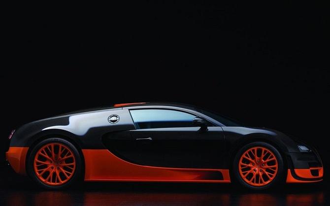 Модель Bugatti Veyron Из Бумаги