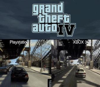 в свет долгожданной игры Grand Theft Auto 4 ...: xage.ru/gta-4-grafika-ps3-protiv-xbox360