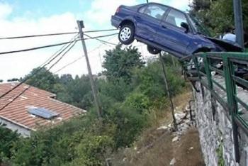 Удачный исход сложных автомобильных аварий