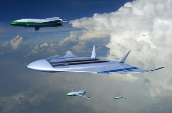 Летающий атомный аэродром никогда не будет садиться