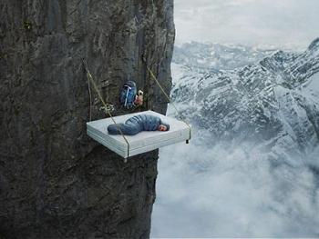 Самые неожиданные места для сна