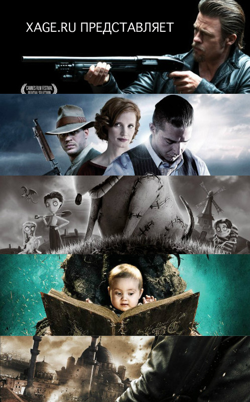 фантастика фильмы список 2012 года: