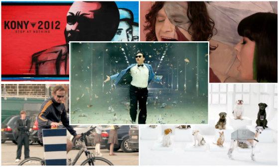 12 головних вірусних роликів 2012 року