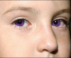 Самый редкий цвет глаз
