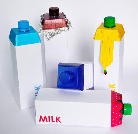 50 оригинальных упаковок для молока