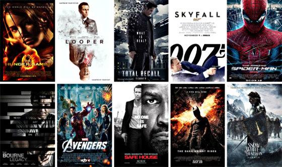 список фильмов 2012 годам: