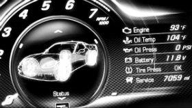Новое тизерное видео Chevrolet Corvette С7 с цифровым тахометром в главной роли.