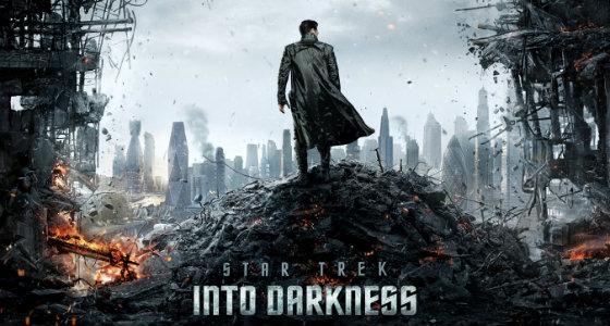 Стартрек: Возмездие / Star Trek Into Darkness (Джей Джей Абрамс) [2013, фантастика, боевик, приключения, HDRip][Звук с TS]