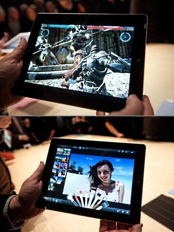 Видео с новым iPad3