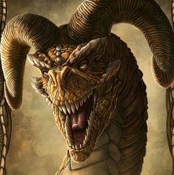 Як намалювати голову дракона?
