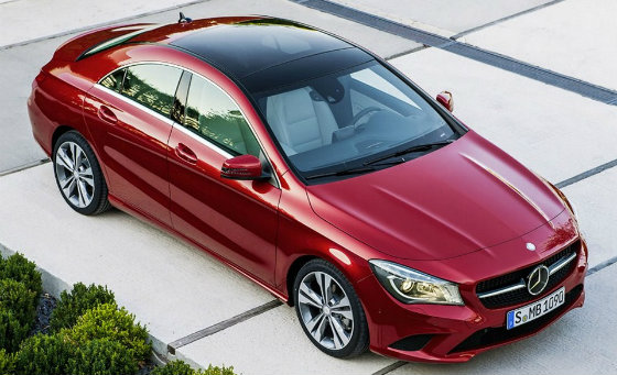 Новий Mercedes-Benz CLA вийде в 2014 году