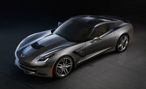 Детройт і презентація 2014 Chevrolet Corvette Stingray