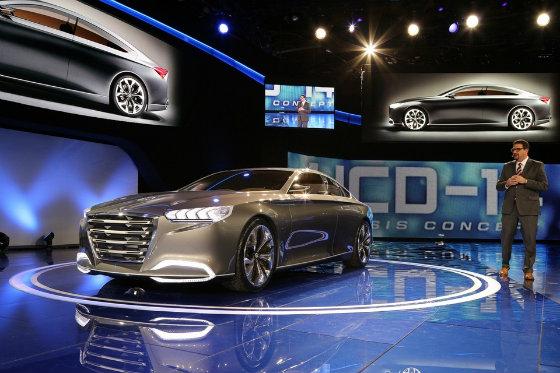 Футуристичний концепт-кар HCD 14 Genesis від Hyundai