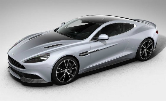 Aston Martin відсвяткував 100-річчя спеціальним виданням Vanquish