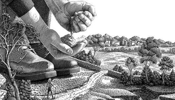 Концептуальние ілюстрації Майкла Халберта