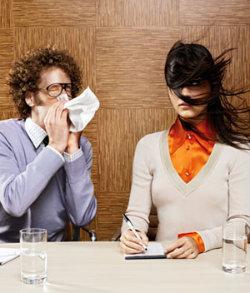 Як не заразитися взимку на роботі?
