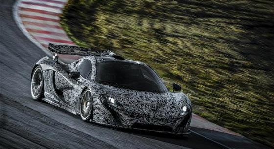 Шпіонскіе знімки прототипу McLaren P1