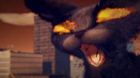 Уморітельная анімаційна короткометражка-«Котзілла»