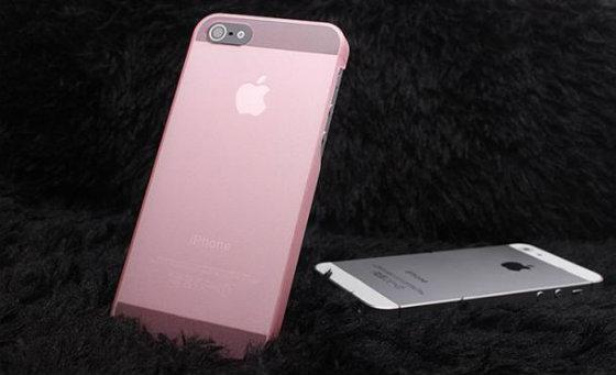 Рожевий iPhone 5S? Смартфон у нових кольорах вже навесні