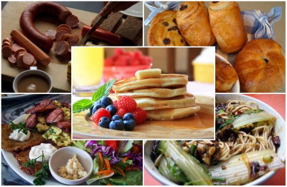 20 самых вкусных завтраков в мире