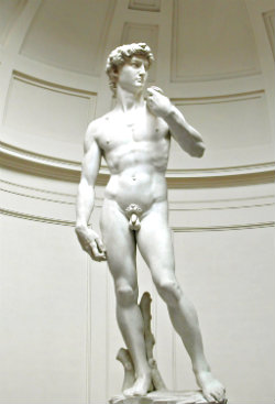 Ідеальні пропорції тіла або канон Мікеланджело