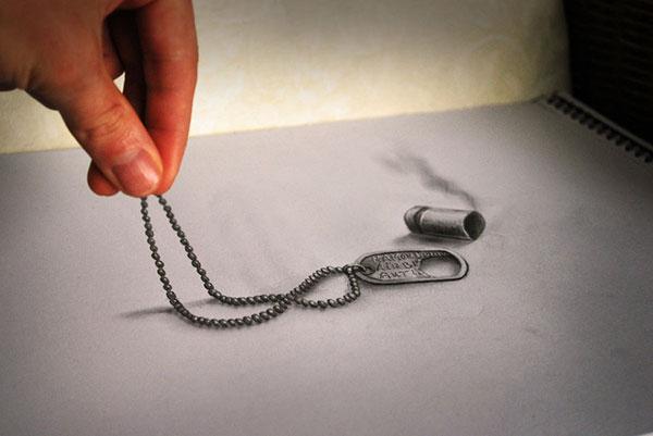 как рисовать карандашом 3d: