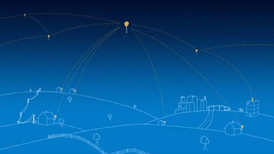 Интернет на воздушных шарах