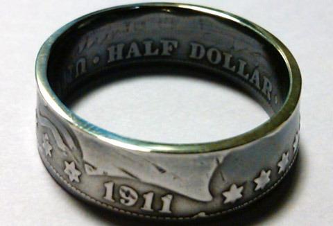 Как сделать кольцо из обычной монетки?