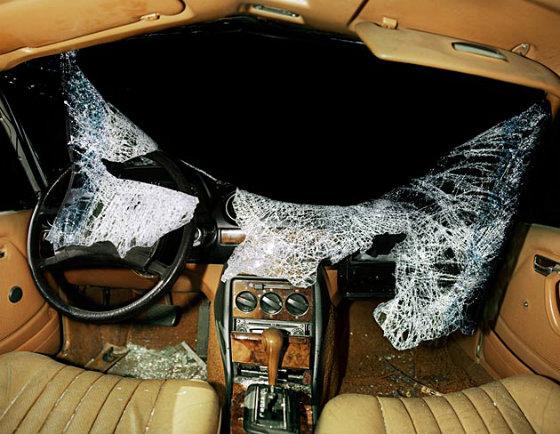 Как выглядят салоны авто после аварий?