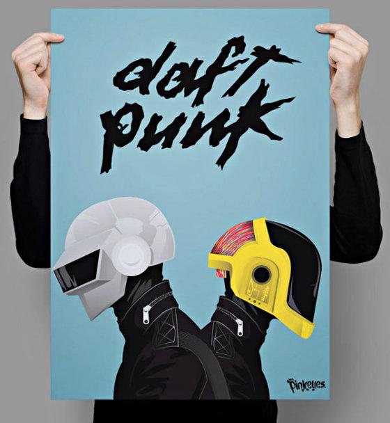 Фан-арт и клипы группы Daft Punk