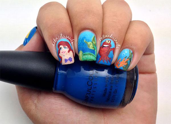 Фото оригинального дизайна ногтей