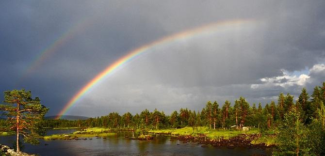Как выглядит радуга с высоты! - 1trek