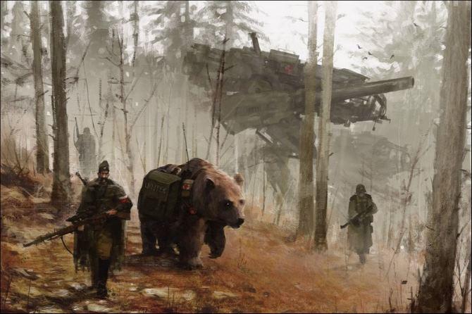 Netrukus Evropos miškuose......